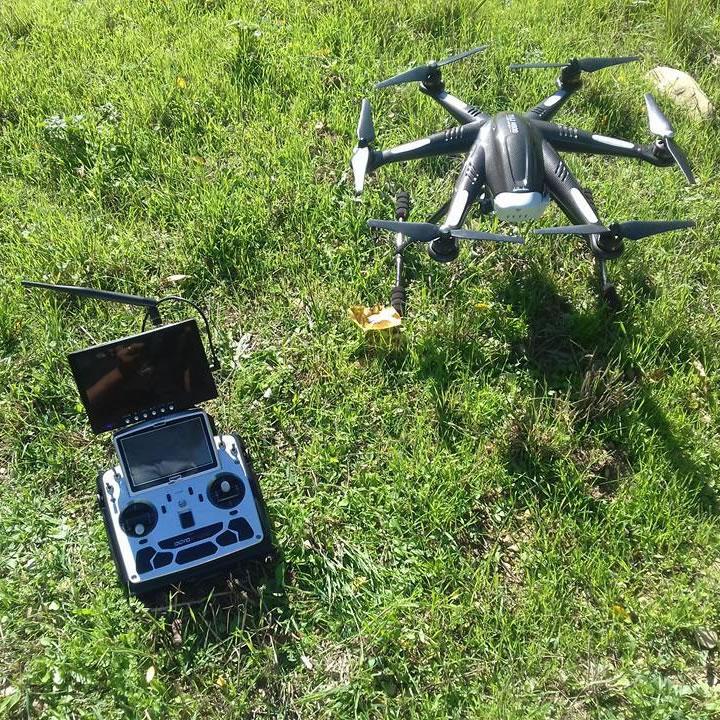 Antares Progettazione - Rilievi con drone