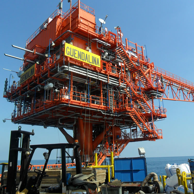 Antares Progettazione - antincendio piattaforma Guendalina