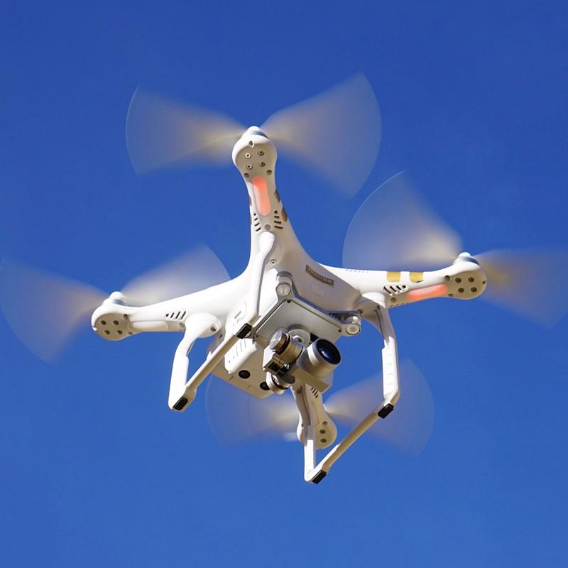 Antares Progettazione - drone in azione