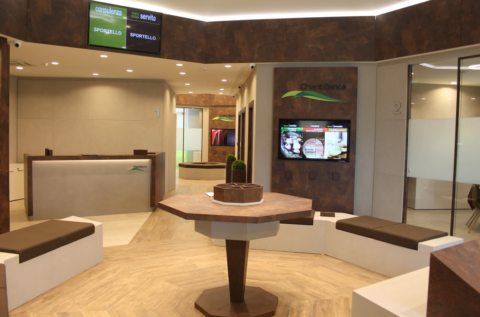 Chianti Banca – sala di attesa 1