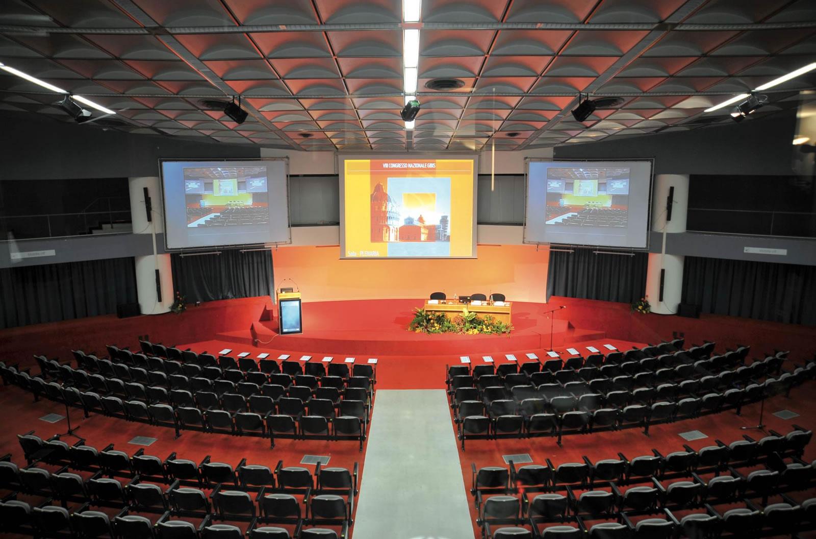 Palazzo dei Congressi di Pisa – auditorium