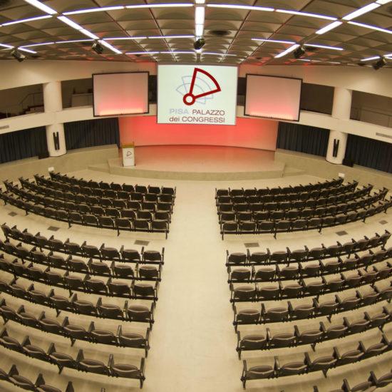 Palazzo dei Congressi di Pisa - sala plenaria