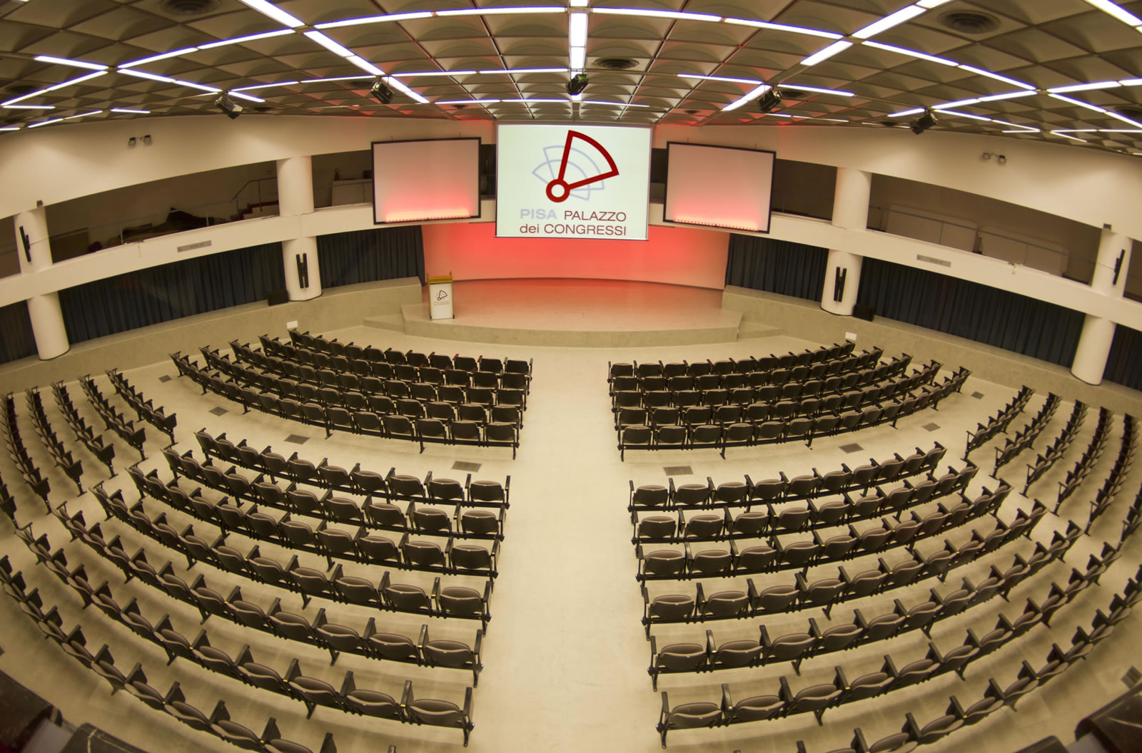 Palazzo dei Congressi di Pisa – sala plenaria
